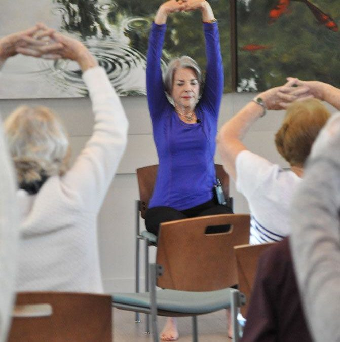 Chair Yoga for Health, Freedom and Radiance